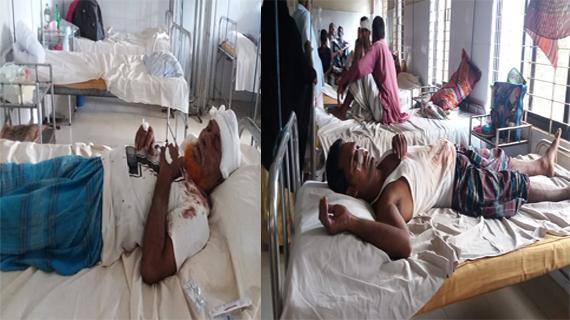 ভাঙ্গুড়ায় তুচ্ছ ঘটনায় সংঘর্ষে উভয় পক্ষের আহত ১৫জন