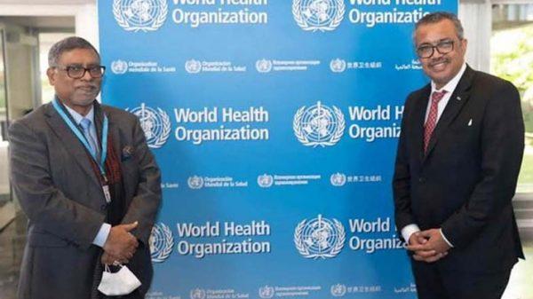দেশের ৪০ ভাগ মানুষের জন্য টিকা পাঠাবে বিশ্ব স্বাস্থ্য সংস্থা : স্বাস্থ্যমন্ত্রী